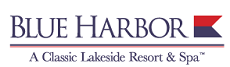 [Blue Harbor Resort Logo]