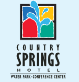 [The Springs Waterpark at the Country Springs Hotel Logo]