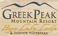 [Greek Peak Mountain Resort and Indoor Water Park Logo]