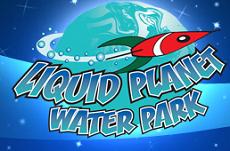 [Liquid Planet Water Park Logo]