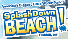 [Splash Down Beach Logo]