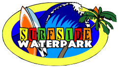 [Surfside Water Park Logo]