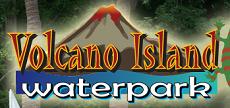 [Volcano Island Water park Logo]