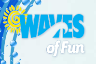 [Waves of Fun Water Park Logo]